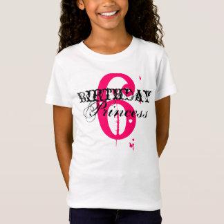 Camiseta Princesa 6 do aniversário