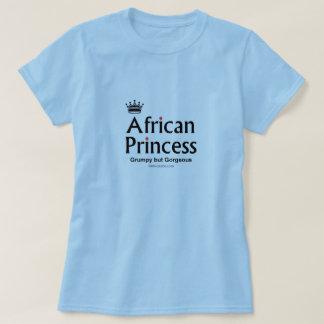 Camiseta princesa africana lindo