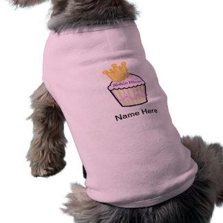 Camiseta Princesa Cupcake do aniversário