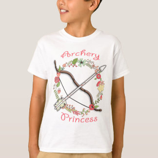 Camiseta Princesa da flor do tiro ao arco