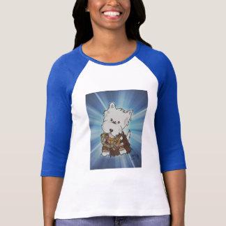 Camiseta Princesa do guerreiro de Westie