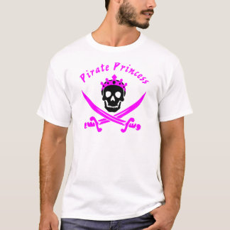 Camiseta Princesa do pirata