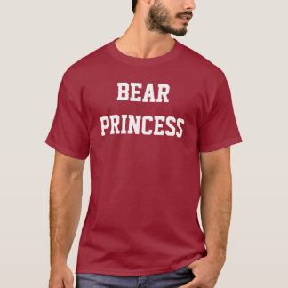 Camiseta Princesa do urso