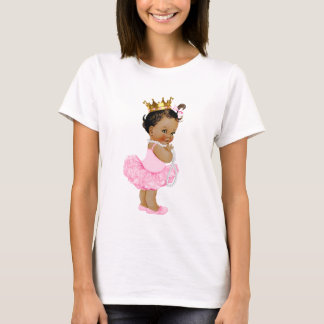Camiseta Princesa étnica Bebê