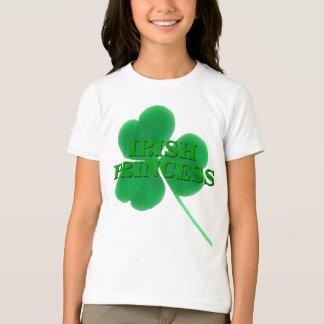 Camiseta Princesa irlandesa do trevo | do dia de St Patrick