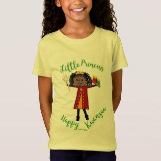 Camiseta Princesa pequena - Kwanzaa feliz