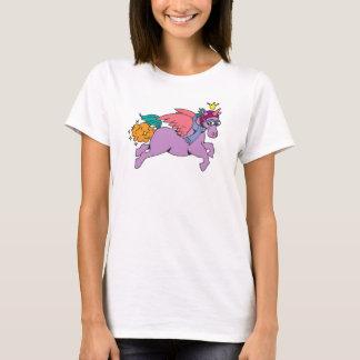 Camiseta Princesa SparkleFarts T-shirt com Web site