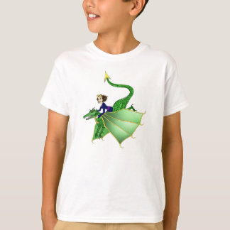 Camiseta Princesa T-shirt do dragão, idades 2 e acima,