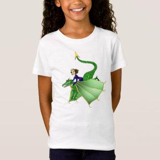 Camiseta Princesa T-shirt do dragão, idades 5 e acima