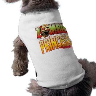 Camiseta Princesa Zombi Cabeça