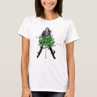 Camiseta Príncipe Crime Tinta Arte do palhaço do palhaço de