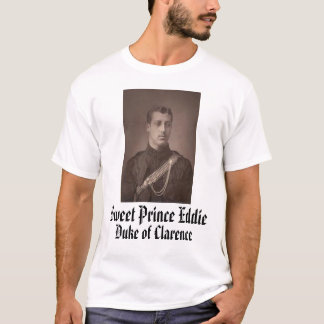 Camiseta Príncipe doce Eddie, príncipe doce Eddie, duque