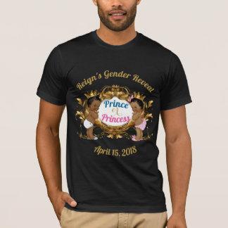 Camiseta Príncipe ou princesa africana Género Revelação