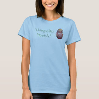 Camiseta Princípio de Matryoshka