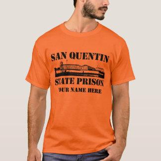 Camiseta Prisão estatal de San Quentin (personalizada)