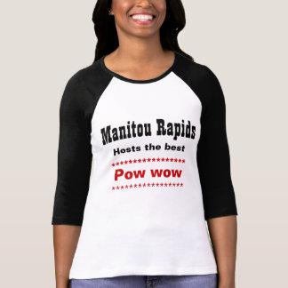 Camiseta prisioneiro de guerra dos rapids do manitou uau