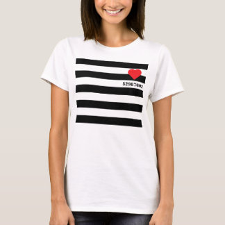 Camiseta Prisioneiro do amor