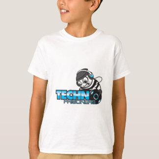 Camiseta Prisioneiros de Techno! T-shirt dos miúdos