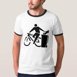 Camiseta Pro bicicleta do anti carro