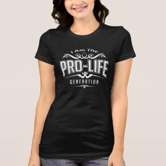 Camiseta Pro geração da vida - escolha o t-shirt de março