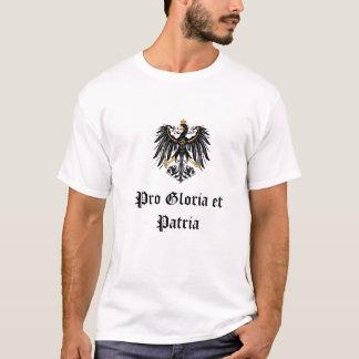 """Camiseta """"Pro Gloria imperial alemão e Patria """""""