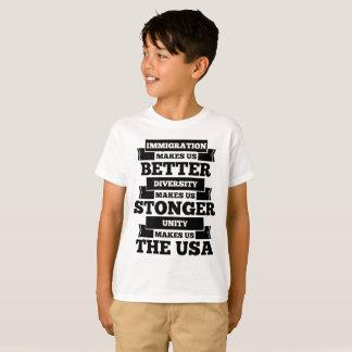 Camiseta Pro imigração