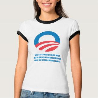 Camiseta Pro-Obama - MARTIN ANDOU ASSIM QUE OBAMA PODERIA