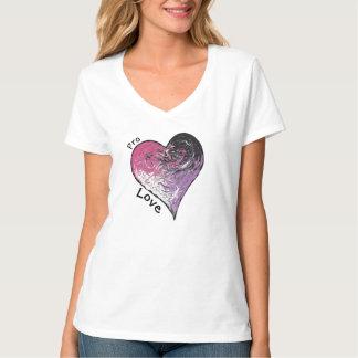 Camiseta Pro t-shirt do amor
