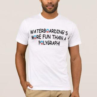 Camiseta Pro waterboarding, anti Obama