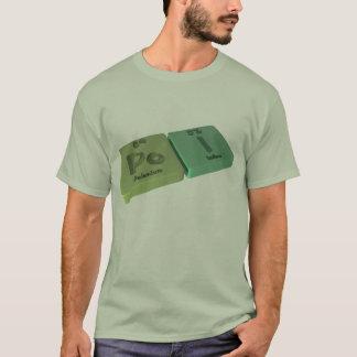 Camiseta Probabilidade de intercepção como o polónio do Po