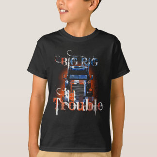 Camiseta Problema grande do equipamento grande! T-shirt do