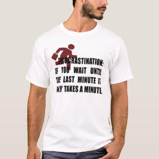 Camiseta Procrastinação