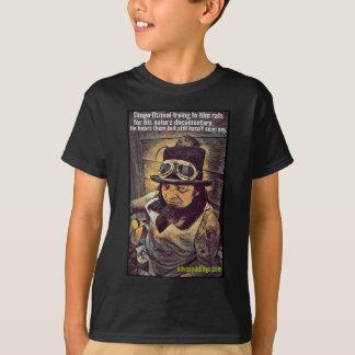 Camiseta procurando ratos
