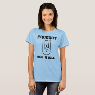 Camiseta Produto do rolo do n da rocha