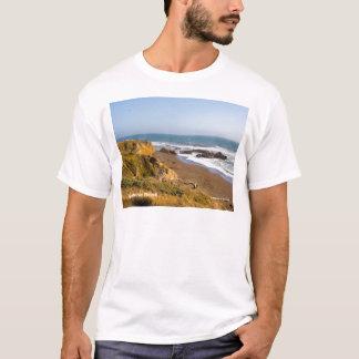 Camiseta Produtos de Cambria Califórnia da praia da pedra