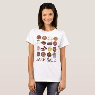 Camiseta Produtos de forno do bolo da torta da brownie do