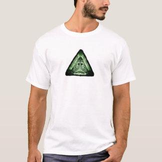 Camiseta produtos manufacturados - algo em sua caixa? t2