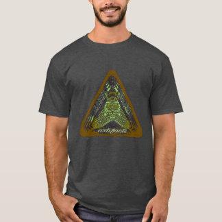 Camiseta produtos manufacturados - algo em sua caixa? T3 do