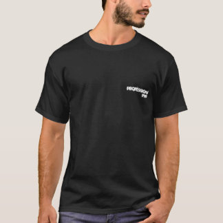 Camiseta ProfessionalPyro 2 - Preto & branco