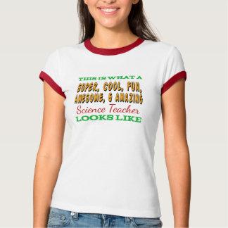 Camiseta Professor de ciências impressionante do professor