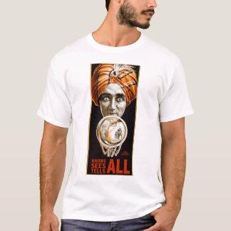 Camiseta Profeta retro de Alexander do Hypnotist do kitsch