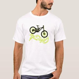 Camiseta Programa demonstrativo do Mountain bike