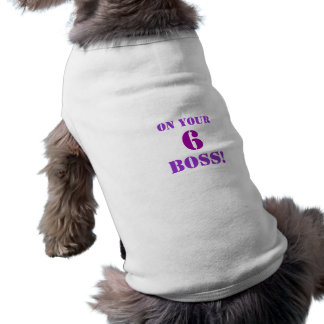 Camiseta Programa televisivo de NCIS em seu chefe 6!