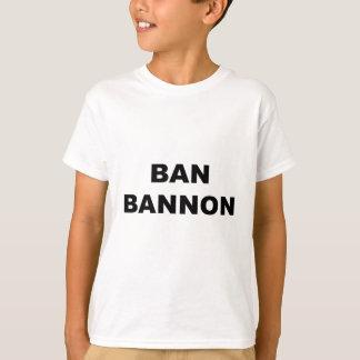 Camiseta Proibição Bannon