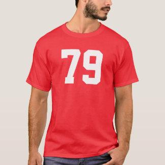 Camiseta Projete seu próprio t-shirt dos números