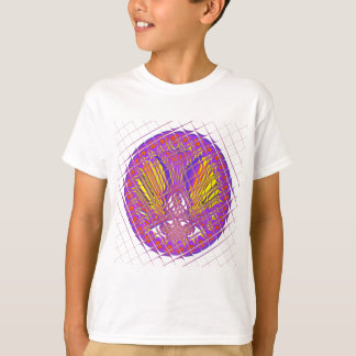 Camiseta Projeto colorido surpreendente do teste padrão da