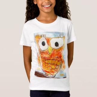 Camiseta Projeto da arte da juventude da coruja | do