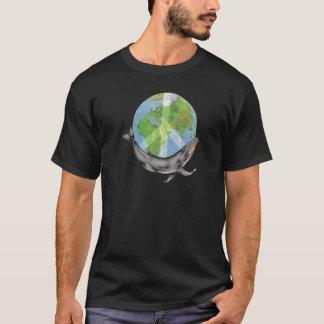 Camiseta Projeto da paz da baleia de Humpback