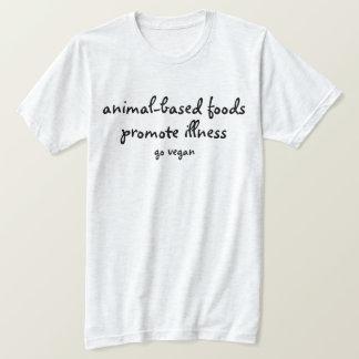 Camiseta Promova a vitalidade - vai o Vegan