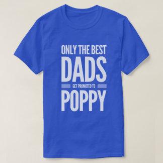 Camiseta Promovido aos homens da papoila o T